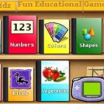 Children's Fun Educational Games software. This is a 'suite' of educational fun learning games for young children. This collection of educational activities for young children can be used at home, kindergartens and pre-schools. Features Include Memory activities-learn sounds, images, letters and numbers. Activities that train the child to use the mouse and keyboard. Pure game activities like puzzles, pong, pacman and billiards. Multilingual support, even right to left languages (via Pango). Solid data logging to monitor the child's progress; locally or over network or any other db supported. Object oriented framework for easy activity development in Python/PyGame. Eye / Hand coordination And much more... ONLY $5.25