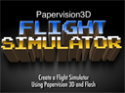 Papervision 3D Flight Simulator. A lot of fun for ONLY $10